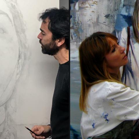 Jaime Valero y Susana Ragel en Murcia